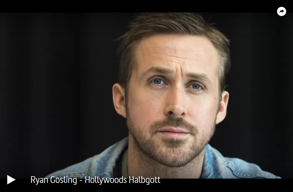 ARTE-Doku: Ryan Gosling - Hollywoods Halbgott