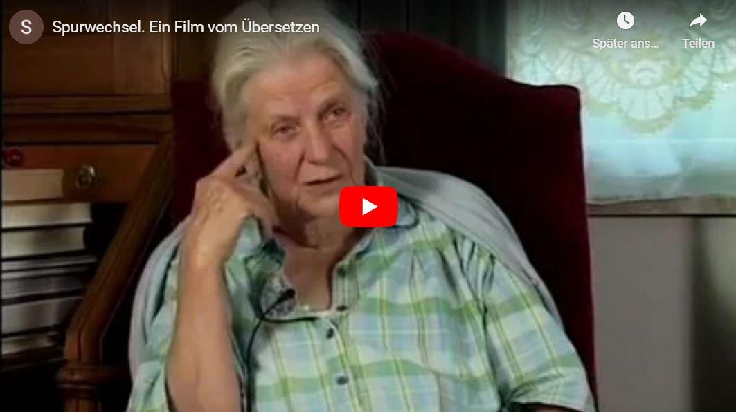 Spurwechsel - Ein Film vom Übersetzen // Doku-Empfehlung von Grit Zacharias
