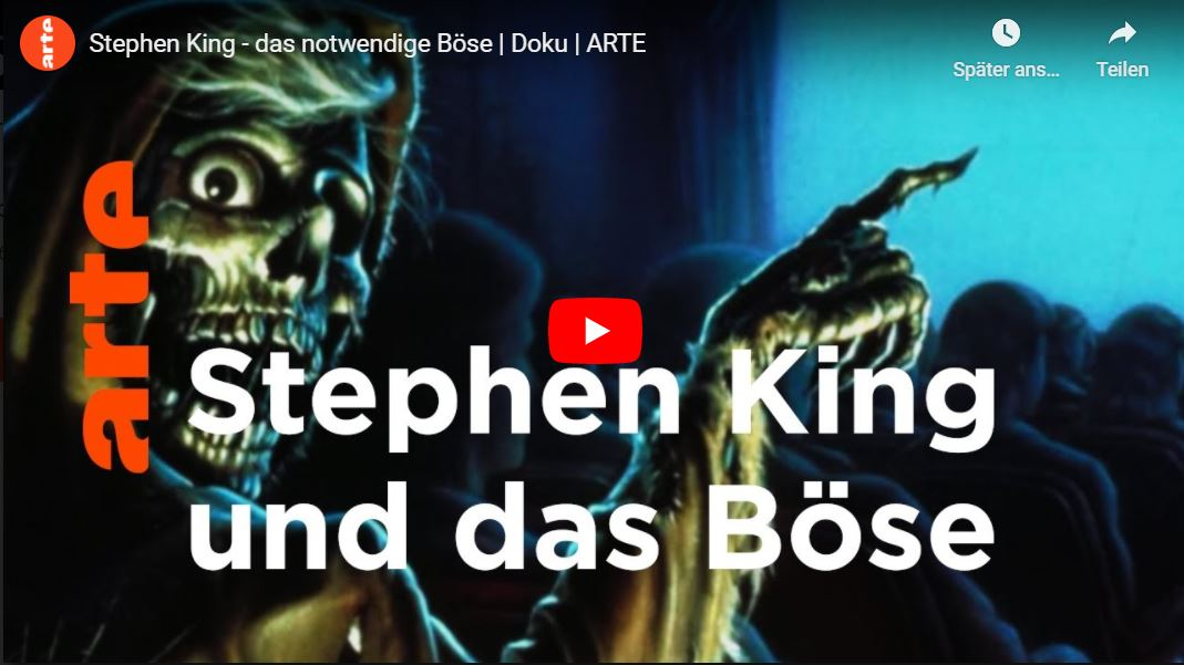 ARTE-Doku: Stephen King - das notwendige Böse
