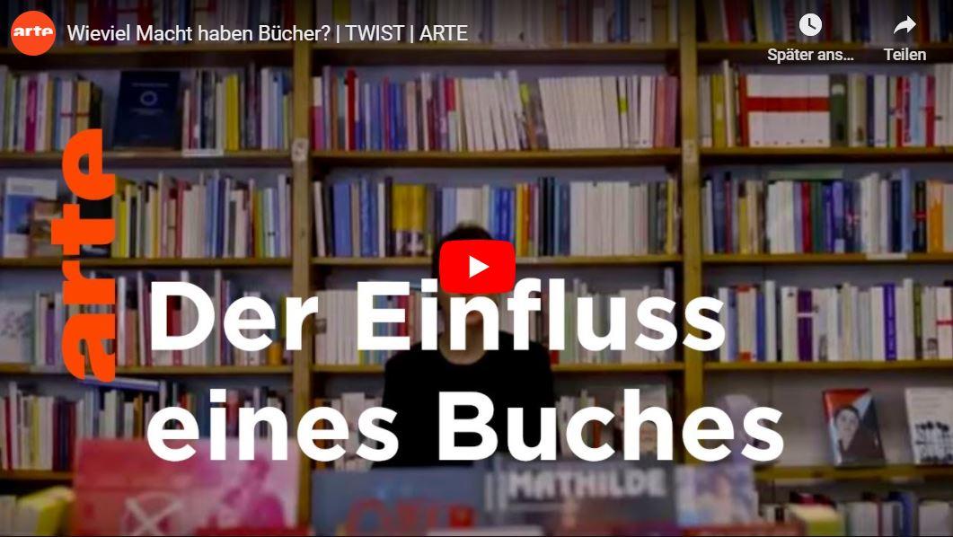 Video-Tipp: Wieviel Macht haben Bücher?