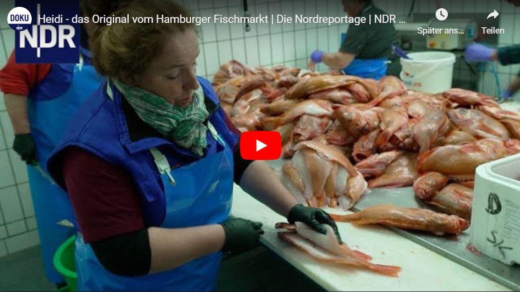 NDR-Doku: Heidi - das Original vom Hamburger Fischmarkt