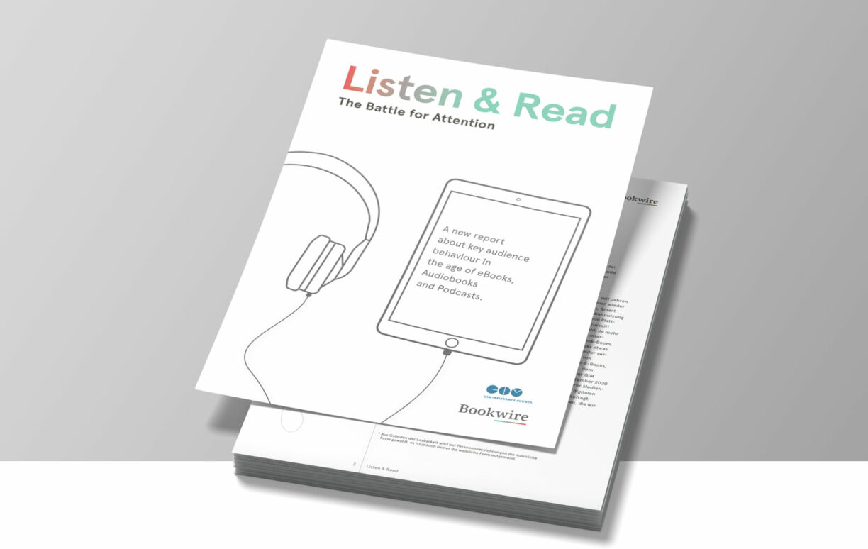 »Listen & Read: The Battle for Attention« (Bookwire, 2020)