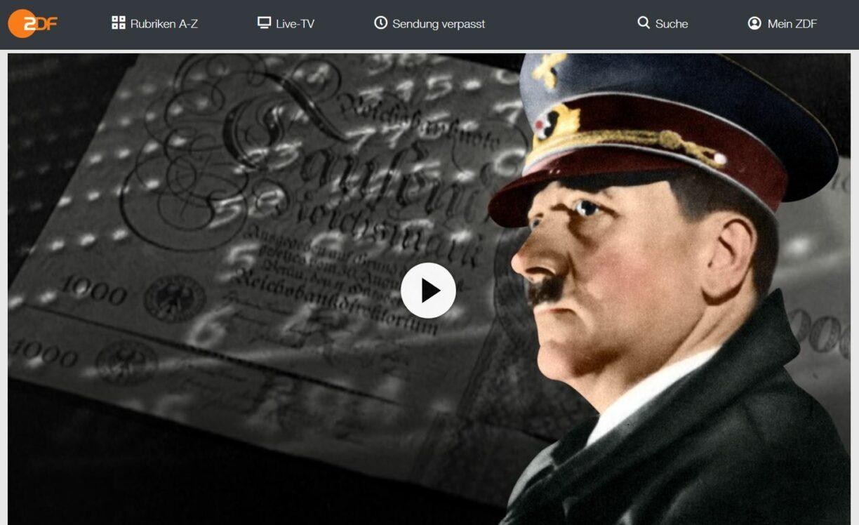 ZDF-Doku: Multimillionär Hitler - Fünf Gründe für Hitlers Reichtum