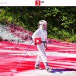3sat-Doku: Think Big! Die Künstlerin Katharina Grosse