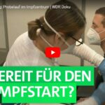 WDR-Doku: Corona-Impfung - Probelauf im Impfzentrum
