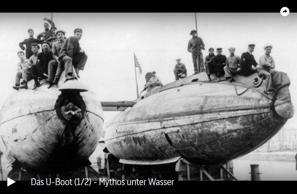 ARTE-Doku: Das U-Boot (2 Teile)