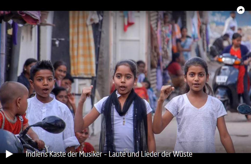 ARTE-Doku: Die Manganiyar - Indiens Kaste der Musiker