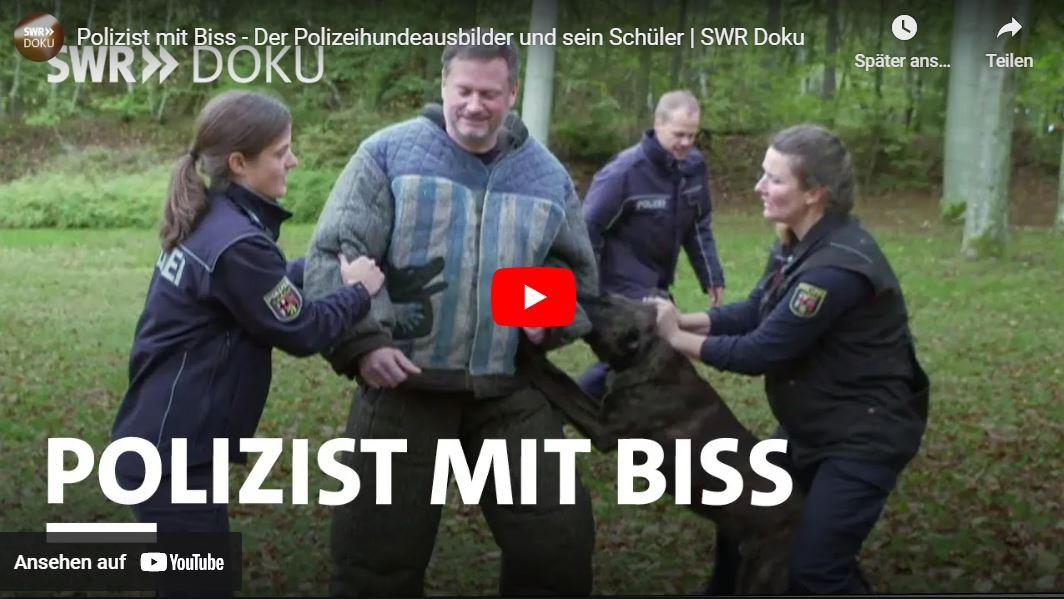SWR-Doku: Polizist mit Biss - Der Polizeihundeausbilder und sein Schüler