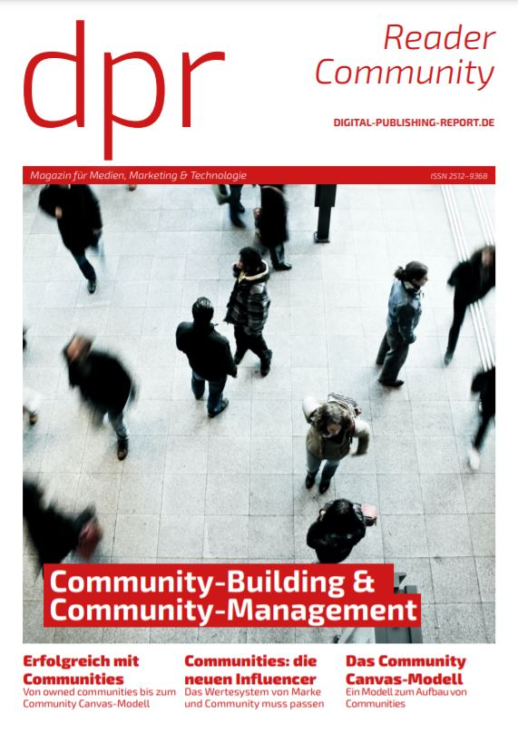 »Reader Community: Community-Building & Community-Management« (dpr, 2021)