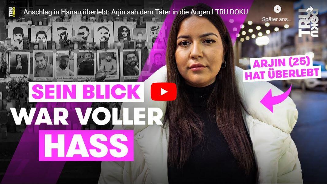 TRU DOKU: Anschlag in Hanau überlebt - Arjin sah dem Täter in die Augen