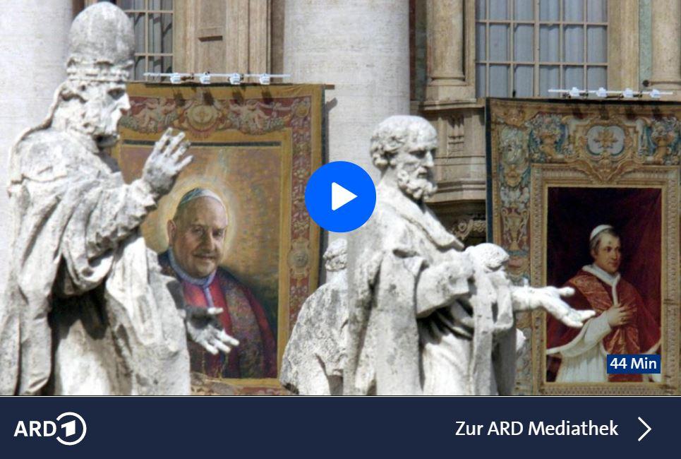 ARD-Doku: Die Kirche bin ich - Wie der Papst unfehlbar wurde