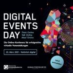 Digital Events Day 2021 - Die Online-Konferenz für erfolgreiche virtuelle Veranstaltungen