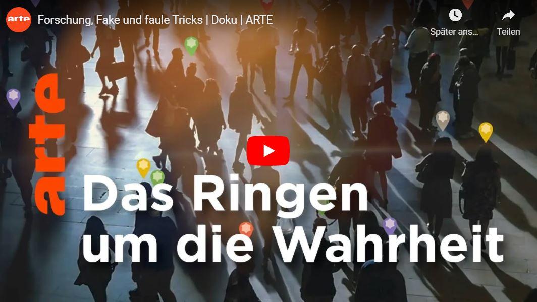 ARTE-Doku: Forschung, Fake und faule Tricks