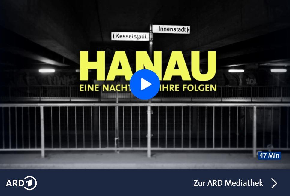 HR-Doku: Hanau - Eine Nacht und ihre Folgen