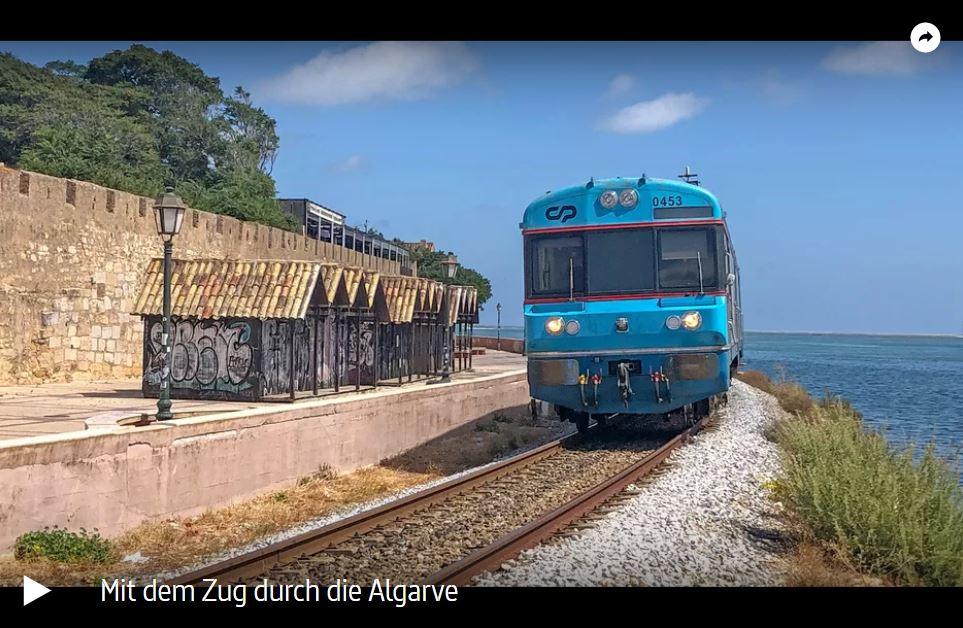 ARTE-Doku: Mit dem Zug durch die Algarve