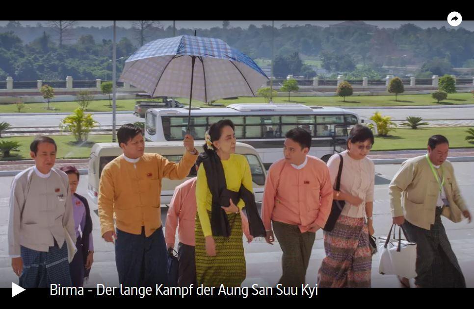 ARTE-Doku: Myanmar - Der lange Kampf der Aung San Suu Kyi