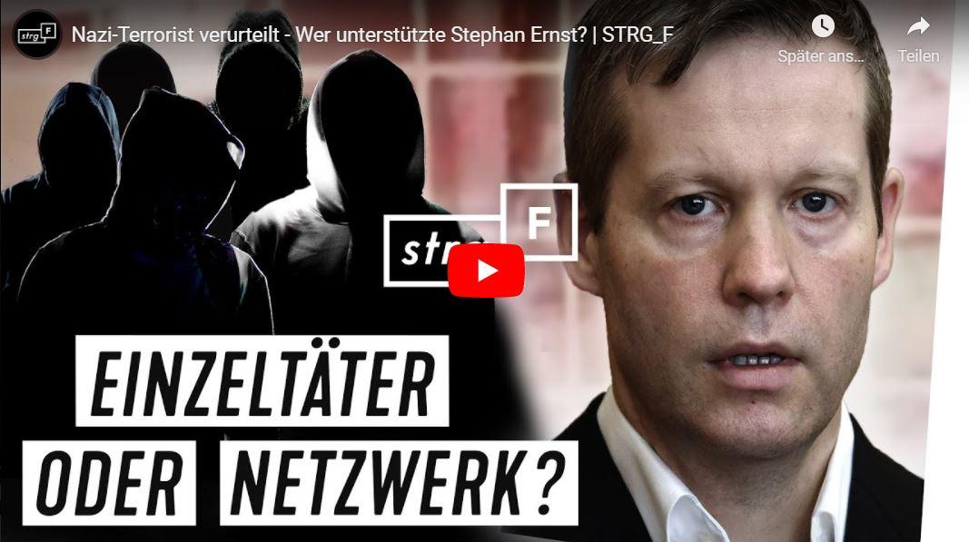STRG_F: Nazi-Terrorist verurteilt - Wer unterstützte Stephan Ernst?
