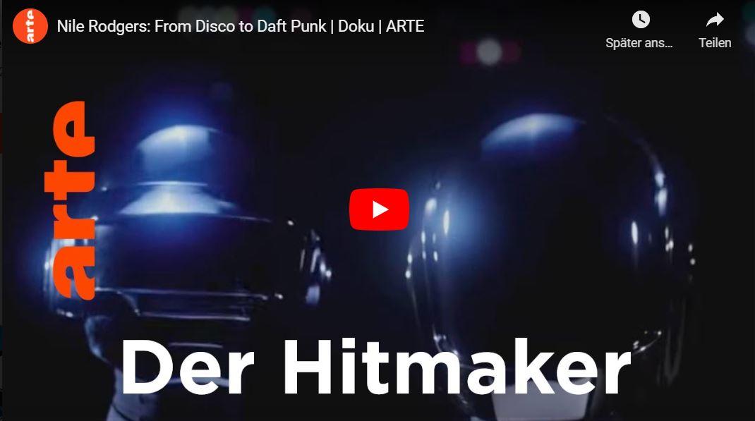 ARTE: Nile Rodgers - From Disco to Daft Punk // Doku-Empfehlung von Rouven Kasten