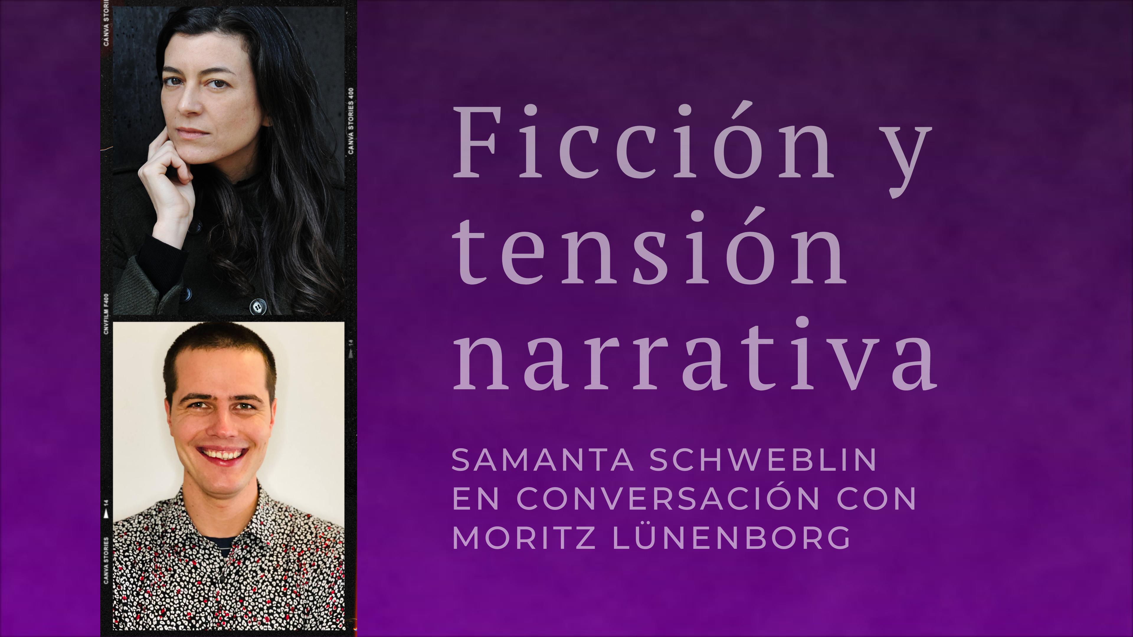 Ficción y tensión narrativa - Samanta Schweblin im Gespräch mit Moritz Lünenborg