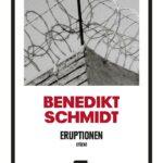 Benedikt Schmidt veröffentlicht Stückesammlung »Eruptionen«