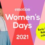 EMOTION Women's Days 2021