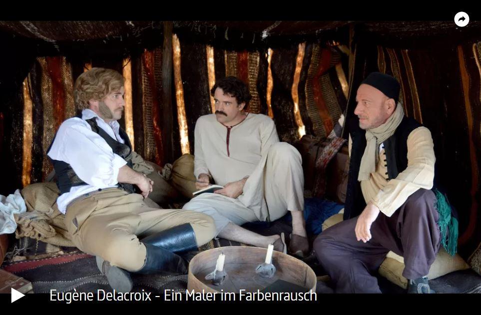 ARTE-Doku: Eugène Delacroix - Ein Maler im Farbenrausch