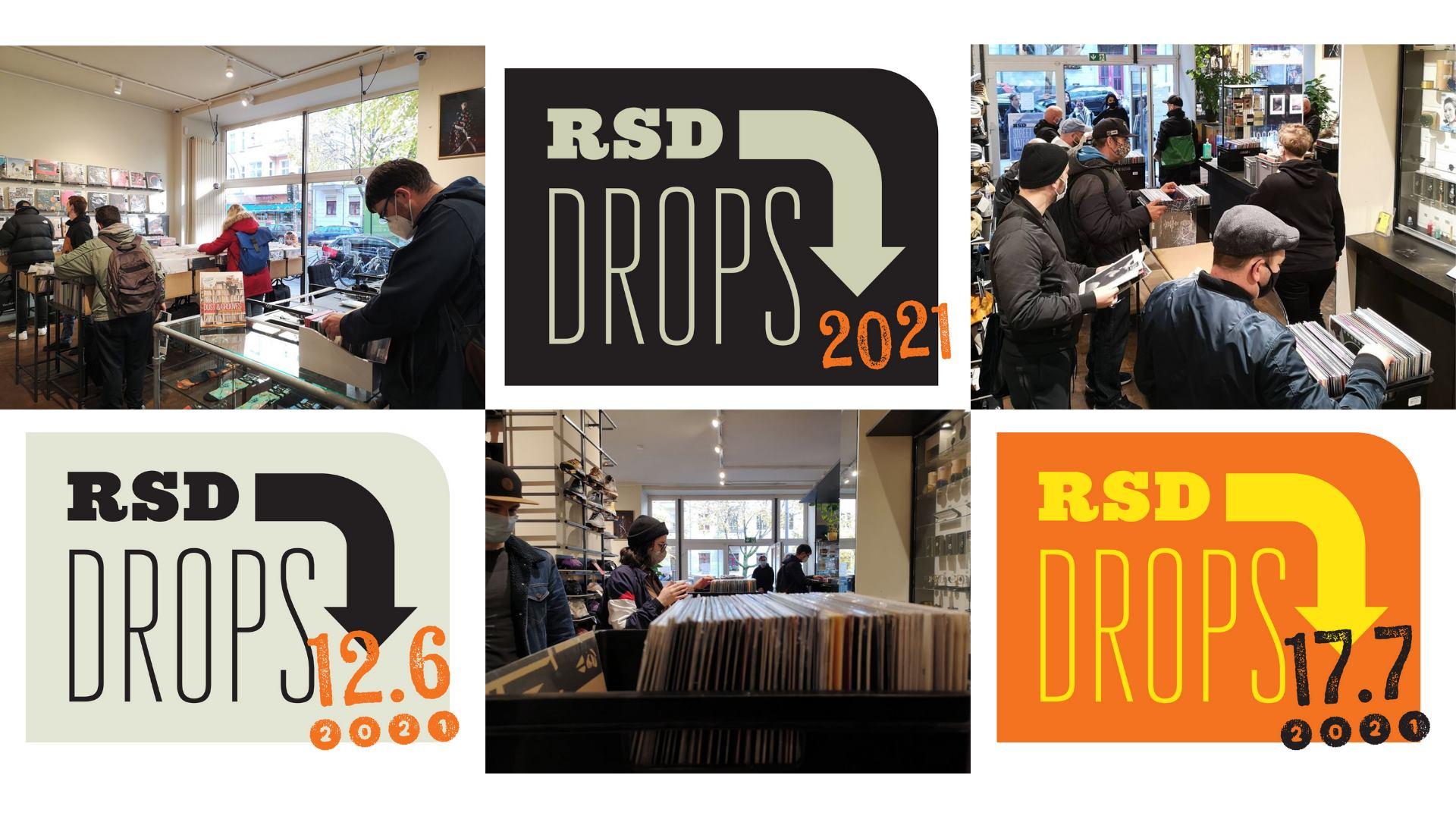 Record Store Day 2021 RSD Drops