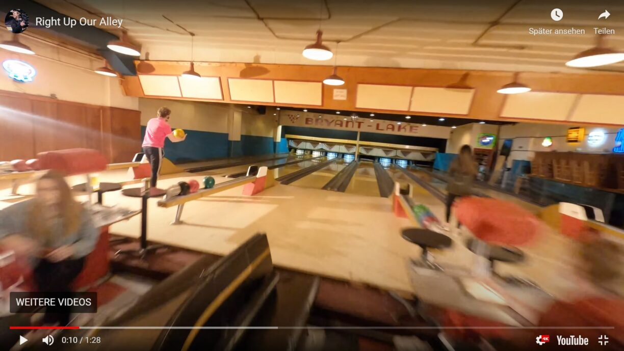 Jay Christensen: Virales Drohnen-Video einer Bowlingbahn in Minneapolis
