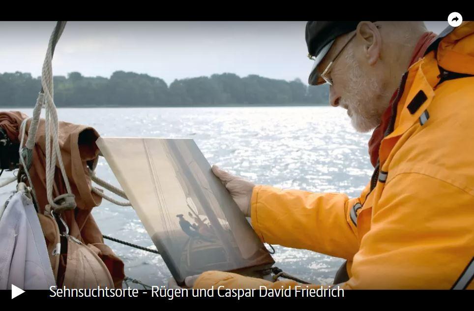 ARTE-Doku: Sehnsuchtsorte - Rügen und Caspar David Friedrich