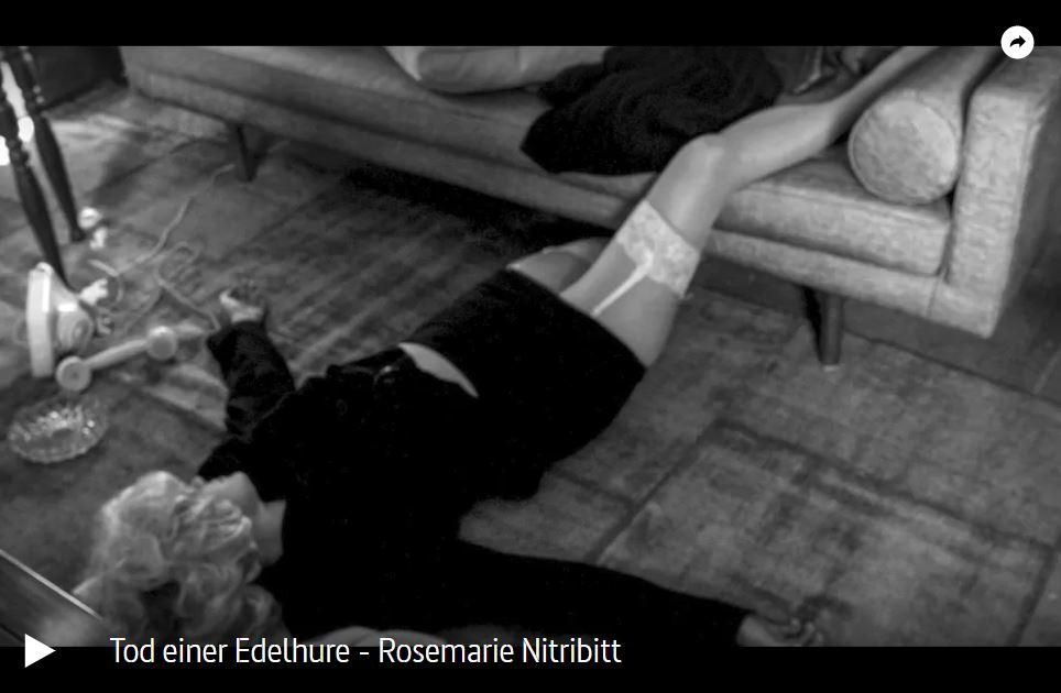 ARTE-Doku: Tod einer Edelhure - Rosemarie Nitribitt