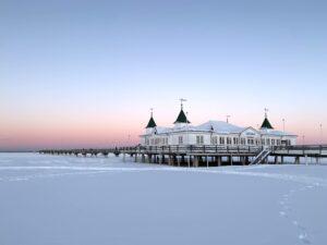 Ahlbeck im Schnee-Licht, Usedom