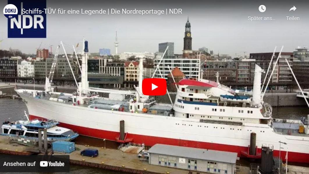 NDR-Doku: Cap San Diego - Schiffs-TÜV für eine Legende