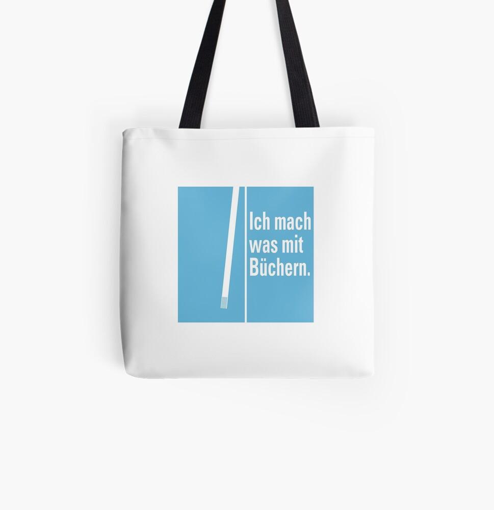 Stofftasche »Was mit Büchern«