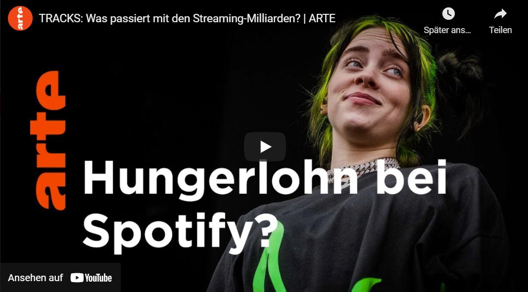 ARTE: Was passiert mit den Streaming-Milliarden? | Tracks