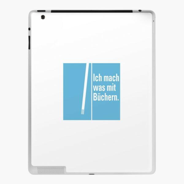 iPad-Klebefolie »Was mit Büchern«