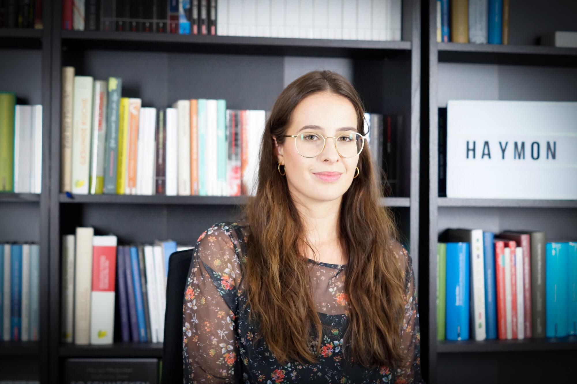 Nadine Rendl: Ich bin Teil des Haymon Verlags und für die Pressearbeit zuständig