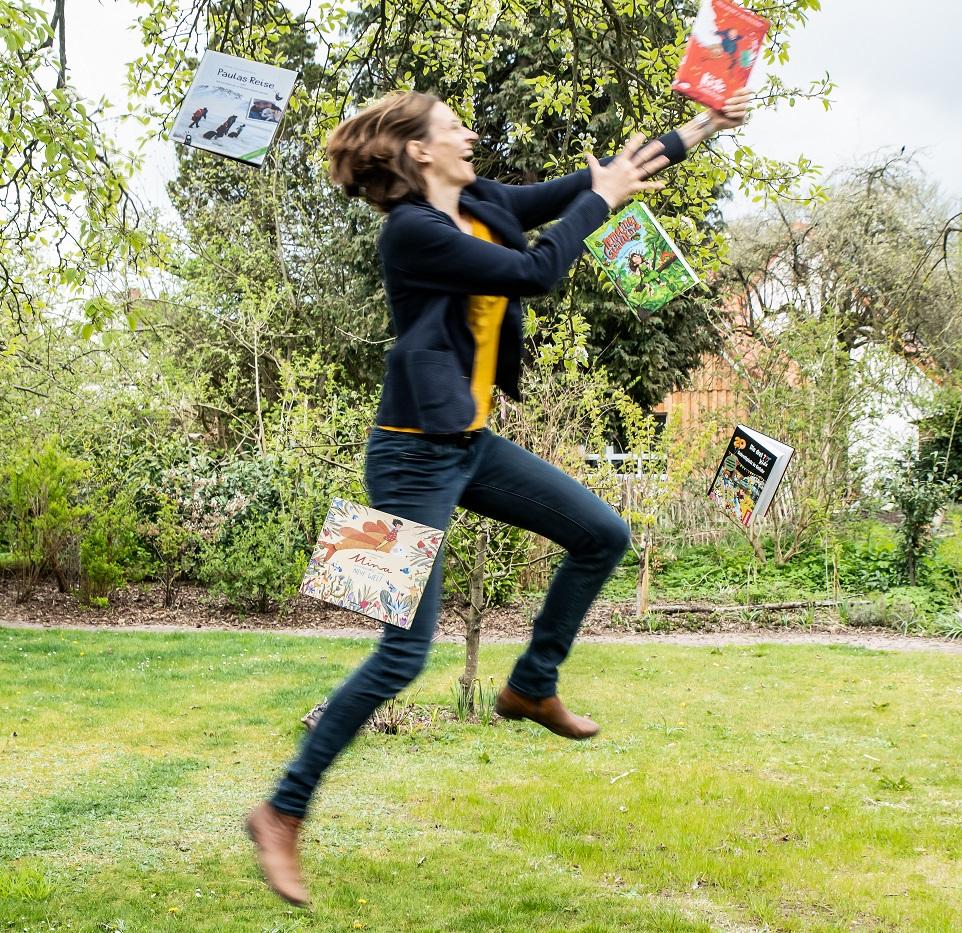 Charlotte Reimann: Ich organisiere das vielleicht größte Kinderliteratur-Festival im ländlichen Norden