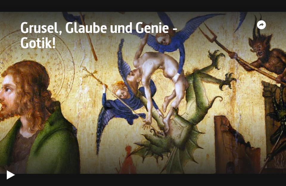 ARTE-Doku: Grusel, Glaube und Genie - Gotik!
