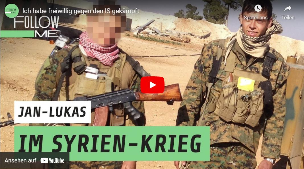 follow me.reports: Ich habe freiwillig gegen den IS gekämpft