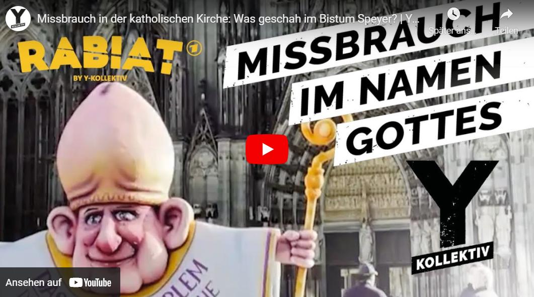 Y-Kollektiv: Missbrauch in der katholischen Kirche - Was geschah im Bistum Speyer? // Doku-Empfehlung von Olga Patlan