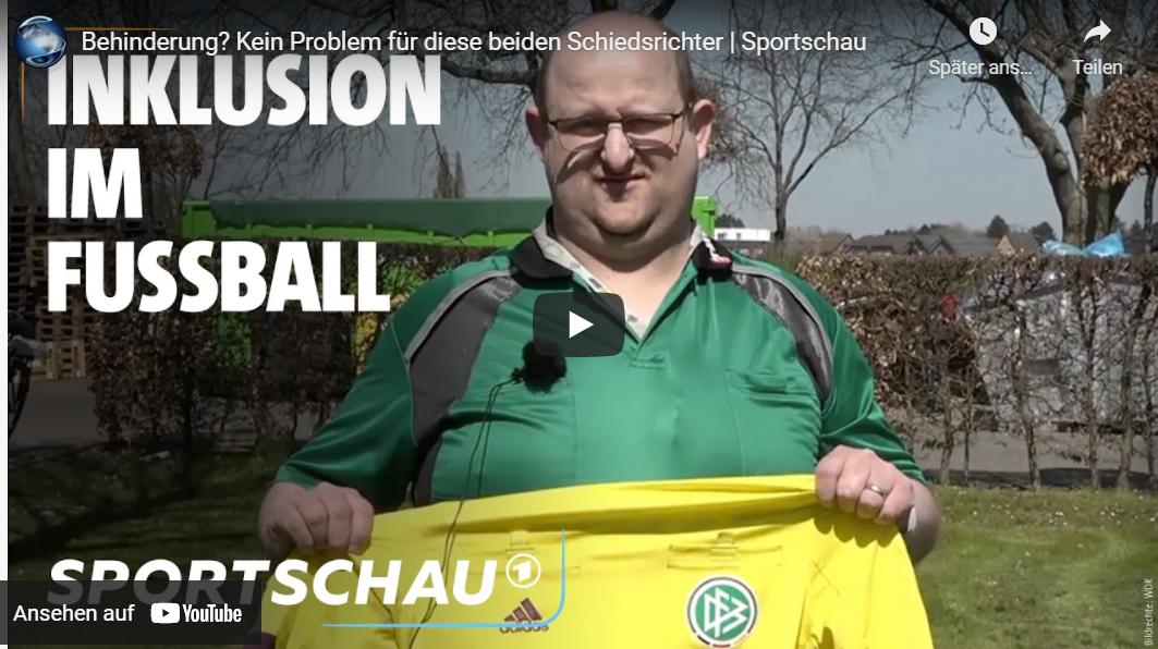 Schönes Beispiel für Inklusion im Fußball