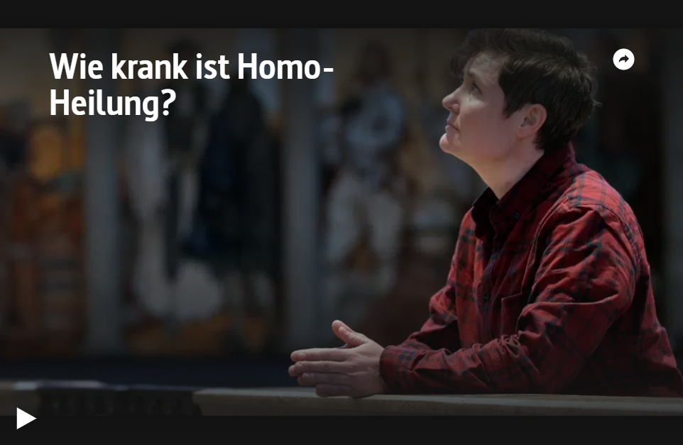 ARTE-Doku: Wie krank ist Homo-Heilung?
