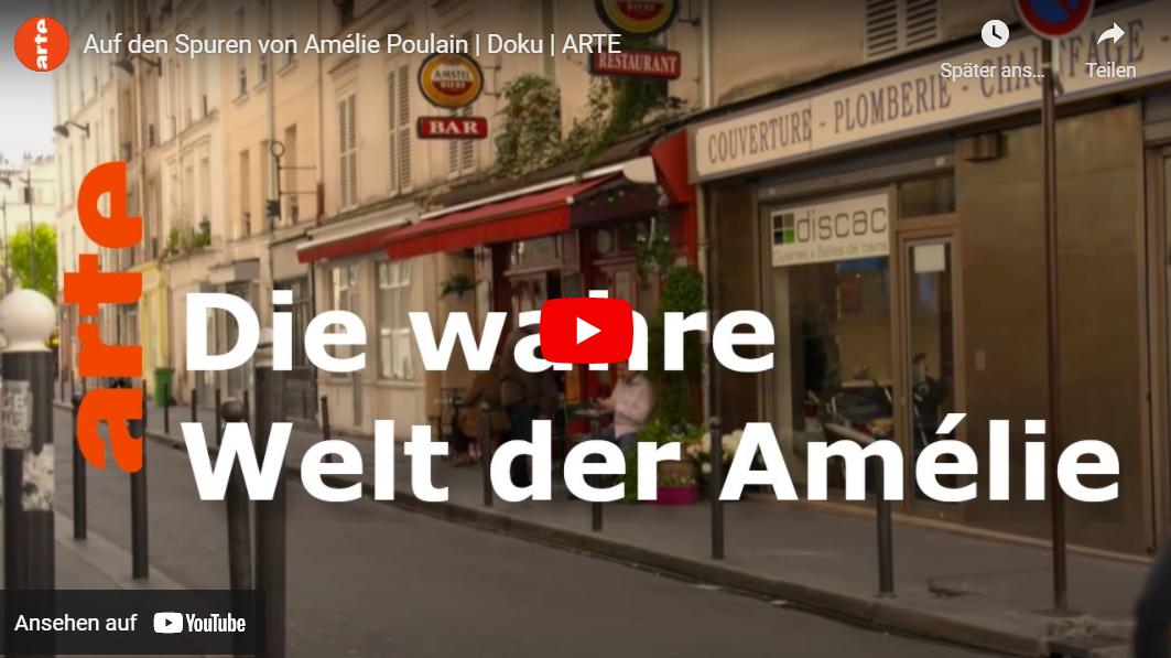 ARTE-Doku: Auf den Spuren von Amélie Poulain