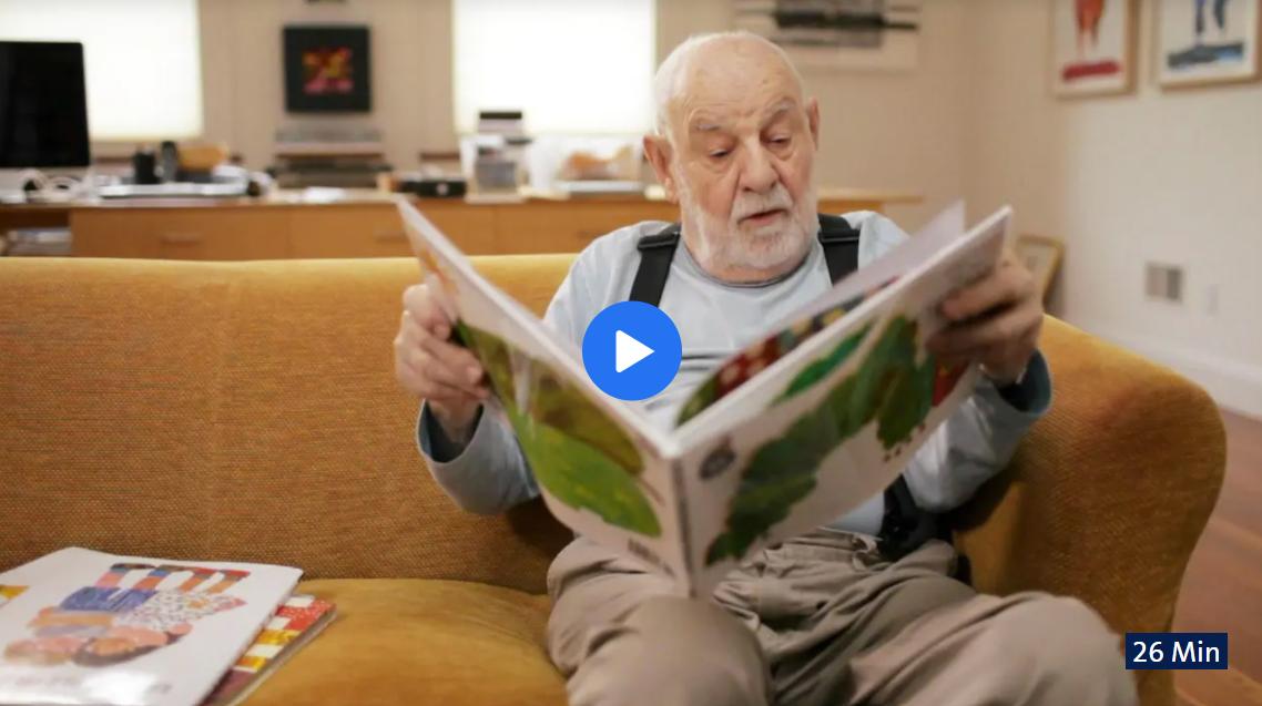 NDR-Doku: »Raupe Nimmersatt« - Der Bilderbuchkünstler Eric Carle