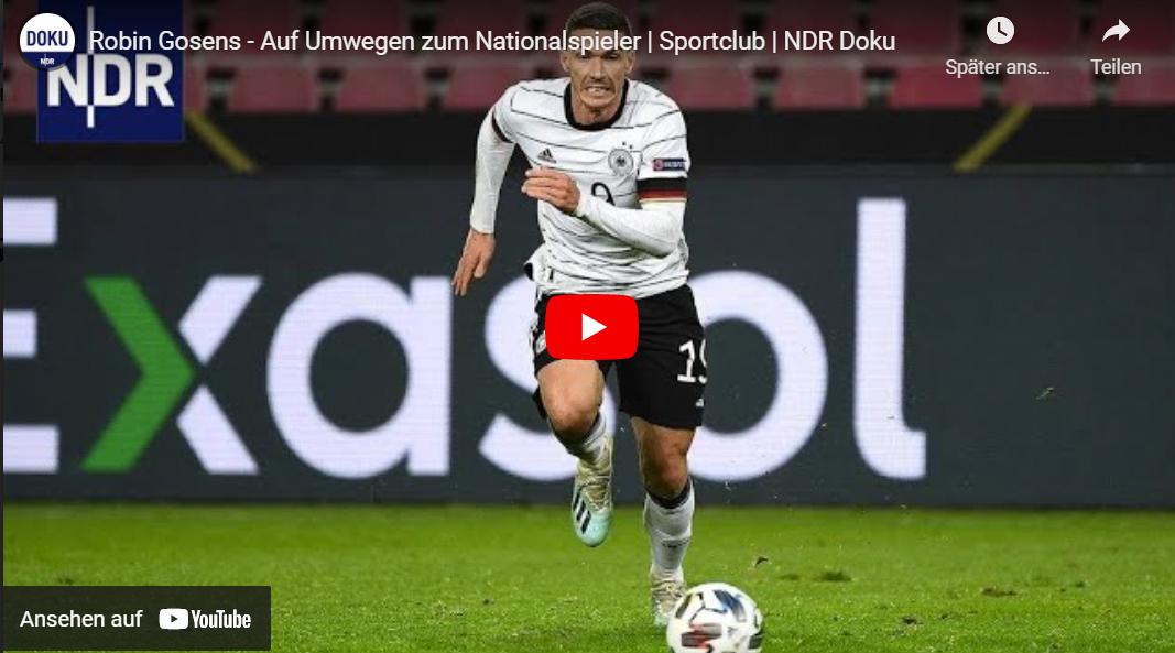 NDR-Doku: Robin Gosens - Auf Umwegen zum Nationalspieler