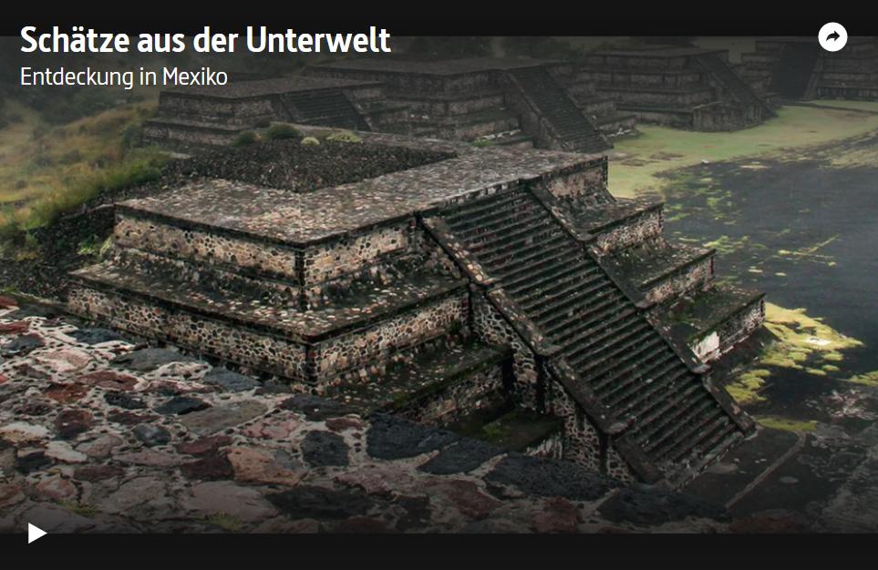 ARTE-Doku: Schätze aus der Unterwelt - Entdeckung in Mexiko