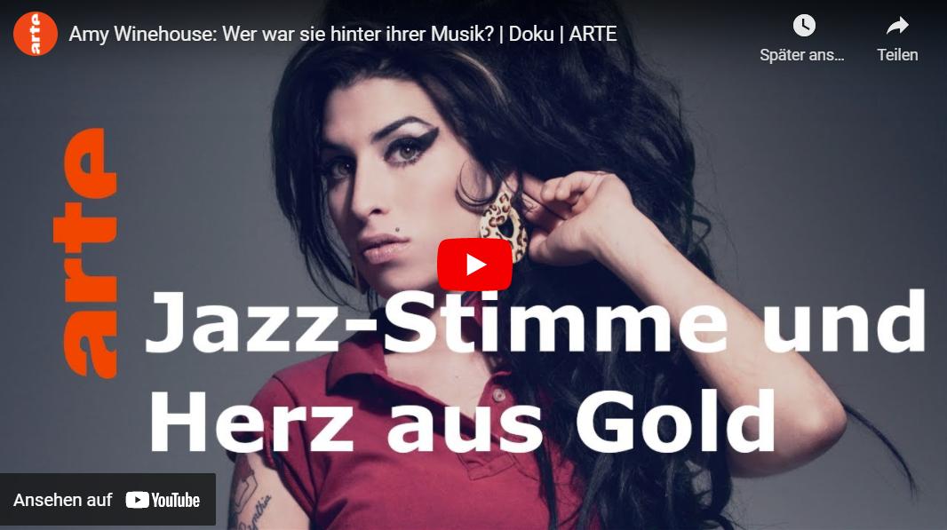 ARTE-Doku: Amy Winehouse - Wer war sie hinter ihrer Musik?