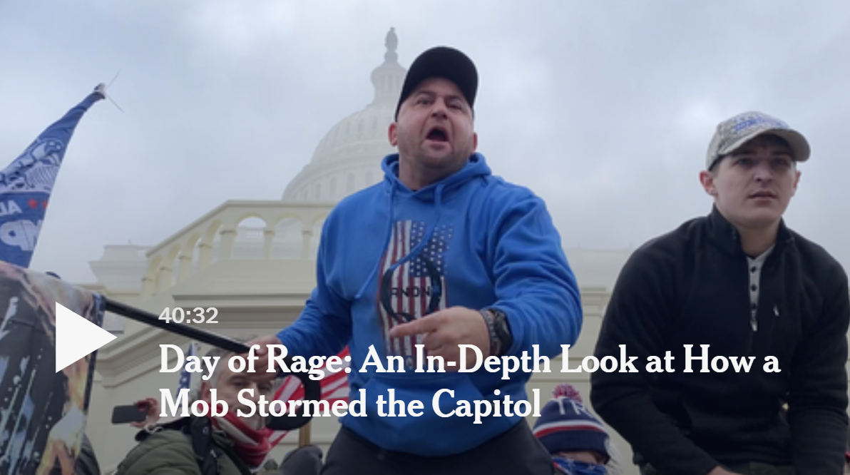NYT-Doku: Day of Rage - An In-Depth Look at How a Mob Stormed the Capitol