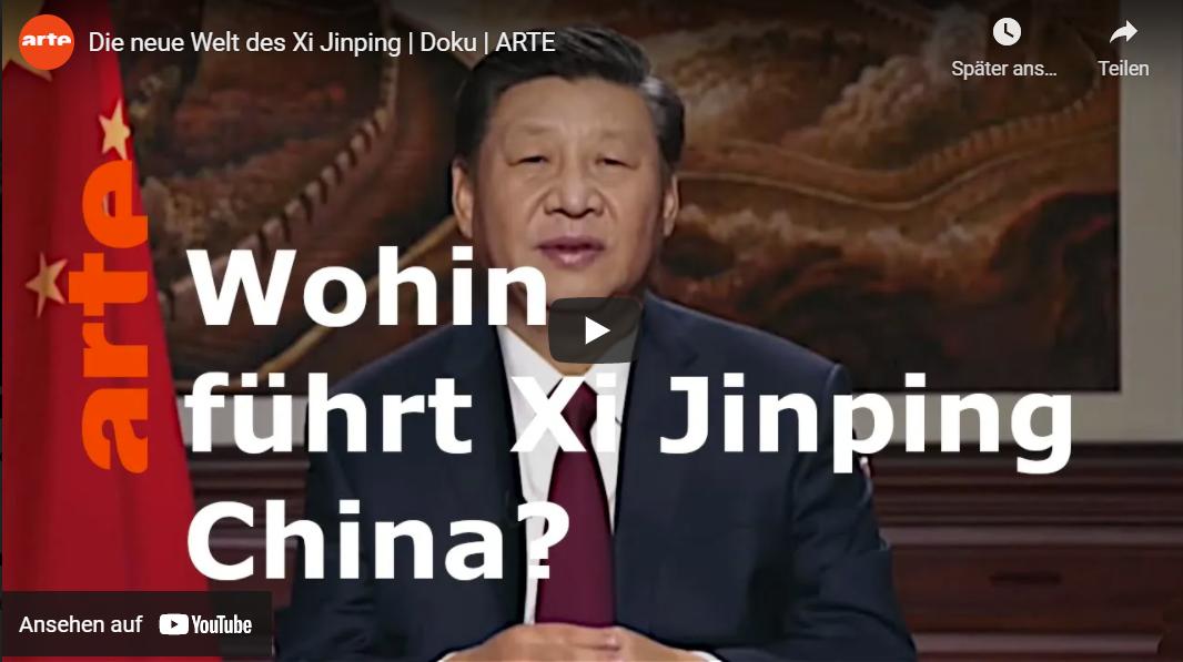 ARTE-Doku: Die neue Welt des Xi Jinping