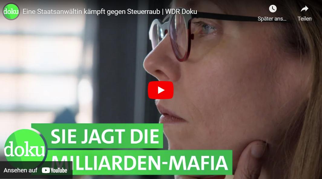 WDR-Doku: CumEx - Eine Staatsanwältin kämpft gegen Steuerraub